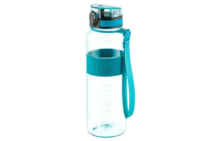 "Бутылка для воды 1000 мл 8,5*8,5*27 см ""Water Balance"" бирюза"