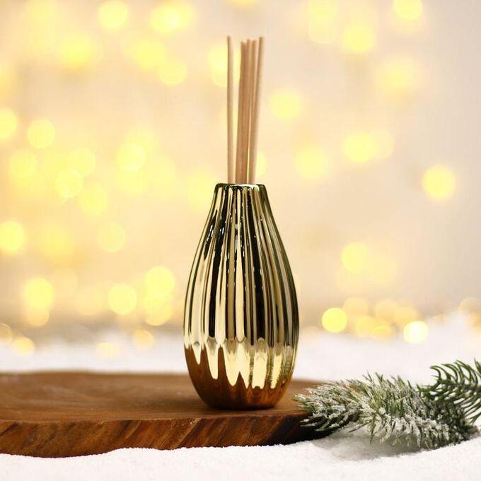 Набор «Волшебство»: ваза, диффузор с ароматизатором, палочки, аромат свежести