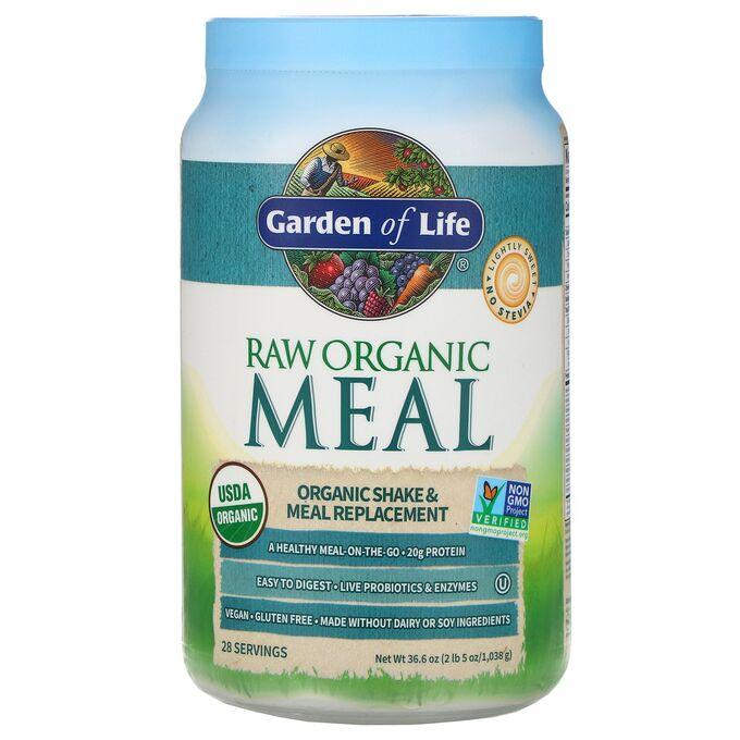 Garden of Life, необработанный органический продукт, заменитель коктейлей и пищи, 1038 г (2 фунта 5 унций)