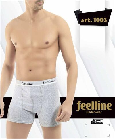 Мужские трусы - боксеры Серый меланж