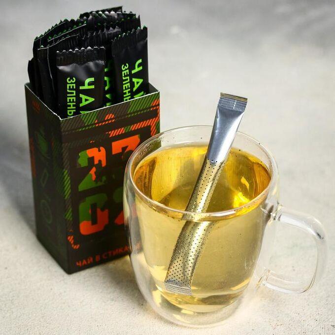 Чай в стиках «23 02», вкус: мята, 30 г. (2 г. х 15 шт.)