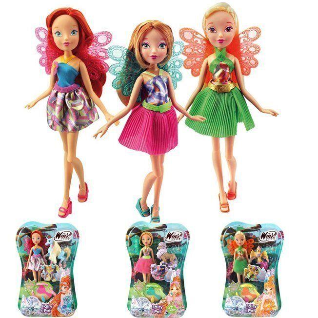 WINX CLUB Кукла Волшебный питомец 01221500IW