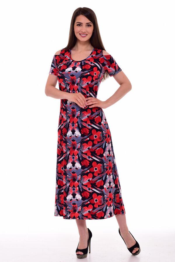 Сарафан женский 4-079 (красный)