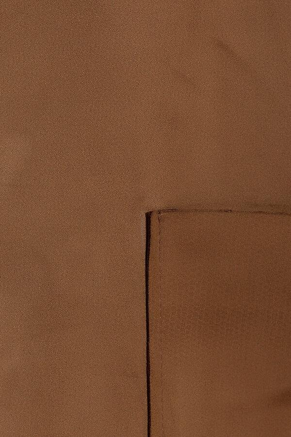 Пальто Ткань: Искусственная замша  Состав: Вискоза 50%, Полиэстер 50%  Сезон: Осень, Зима, Весна  Цвет: Коричневый  Год: 2016  Страна: Россия