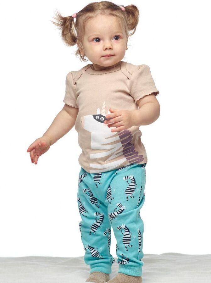 Набор для девочки (футболка+брюки)