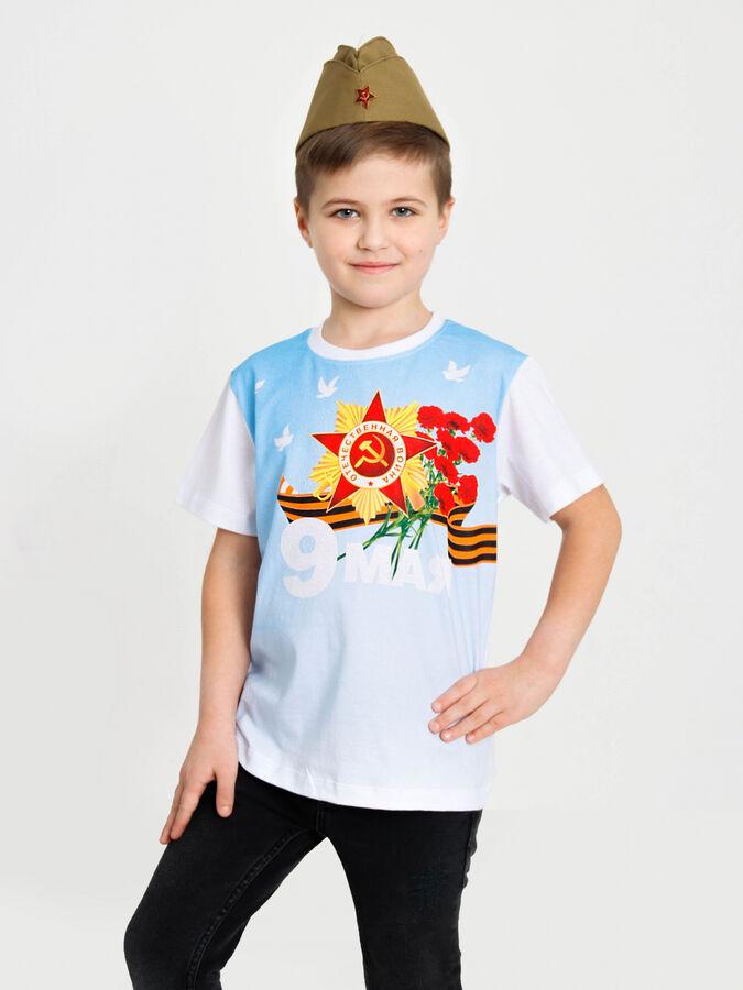 """Футболка """"День победы-5"""" с шелкографией"""