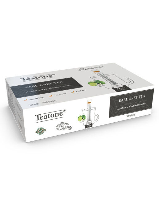 Чай Черный Аромат бергамота TEATONE 100стик