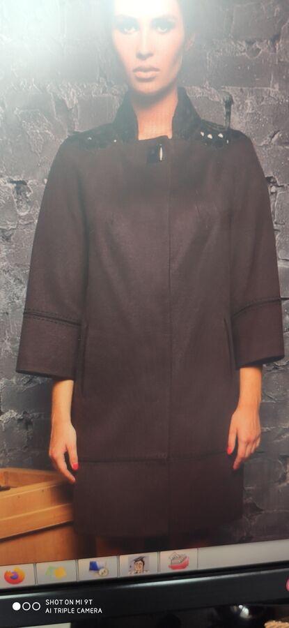 Пальто Черное женское из закупки Шикарный РА (фото внутри) во Владивостоке