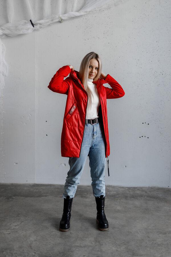 "Куртка стеганая цвет ""RED"""