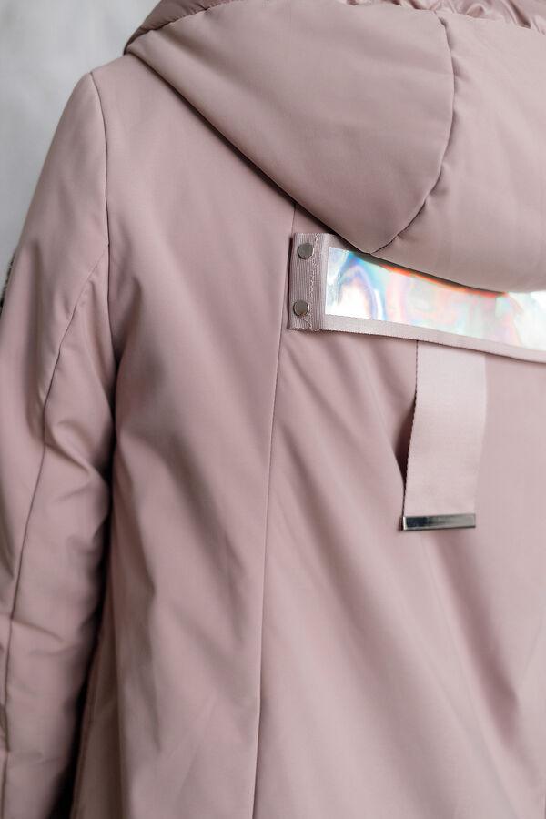 """Куртка деми цвет """"розовый"""""""
