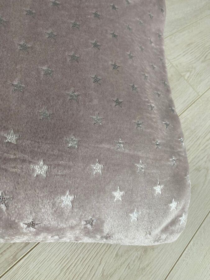 Плед из Велсофта Двуспальный  Звездное небо 180*200 см