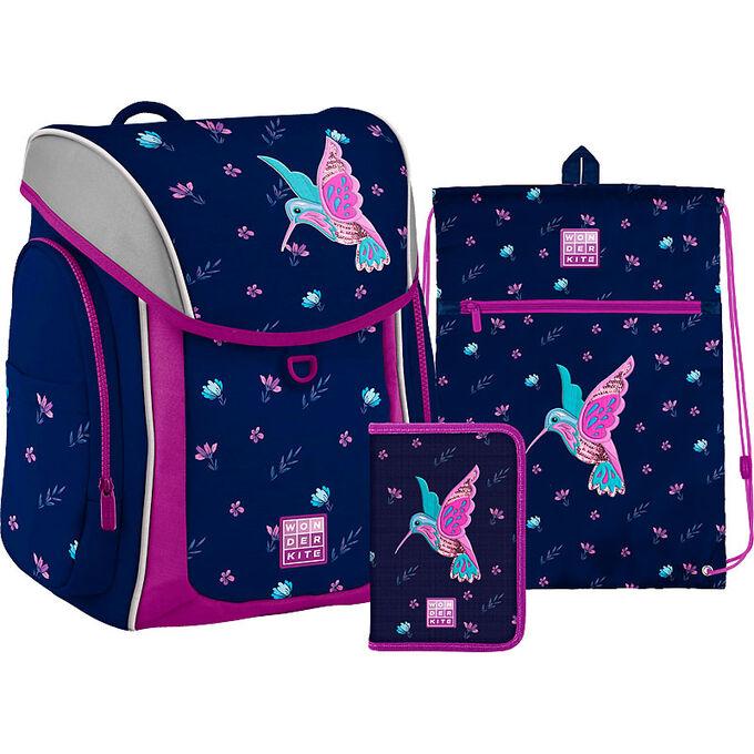 Набор рюкзак + пенал + сумка обуви WK 583 Colibri