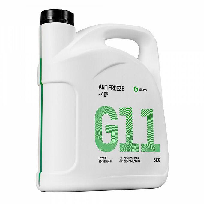 Жидкость охлаждающая низкозамерзающая Антифриз G11 -40*С 5кг