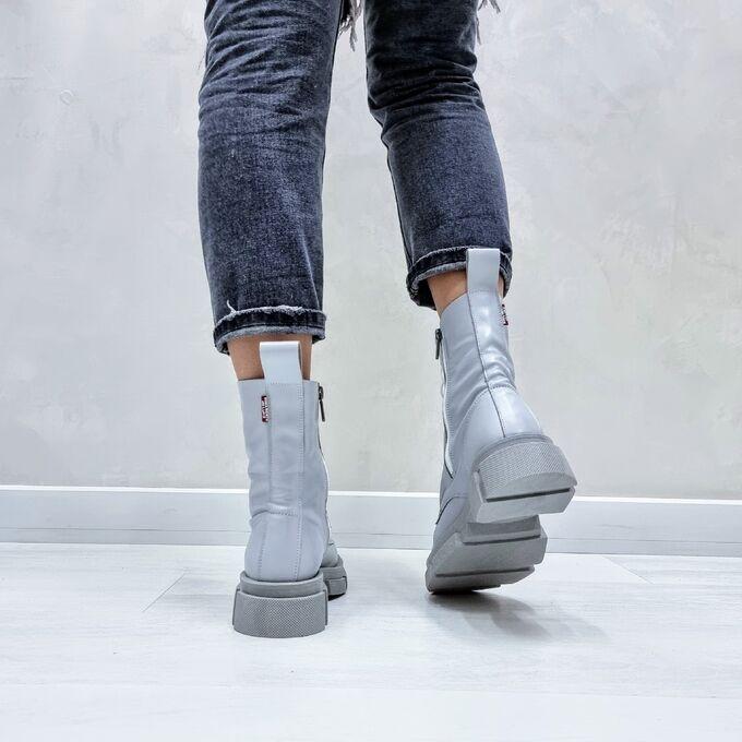 Ботинки  SPRING серый