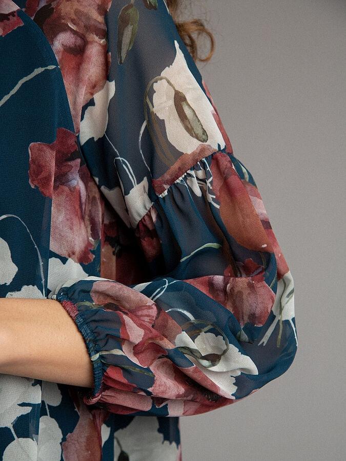 Шифоновое платье А-силуэта ЕМКА рр 42 SALE во Владивостоке