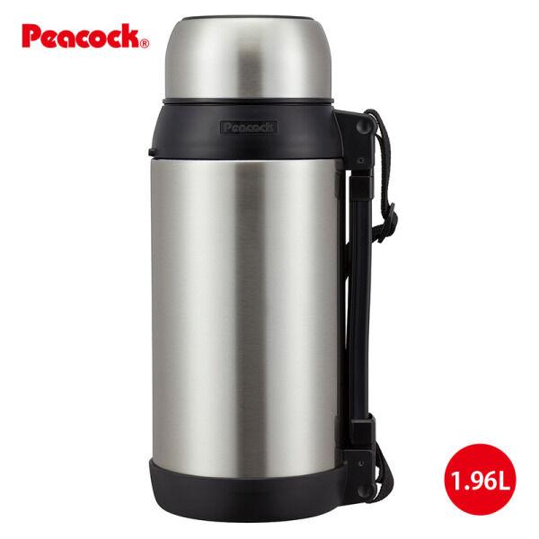 Термос с металлической колбой 1.96 л  PEACOCK  AXT-2001