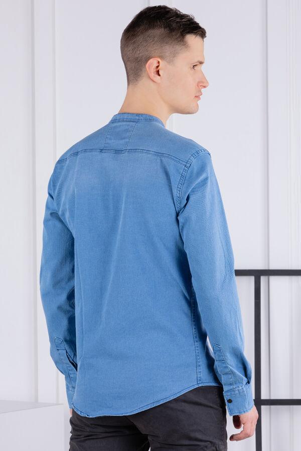 рубашка              17.2076-MAVI