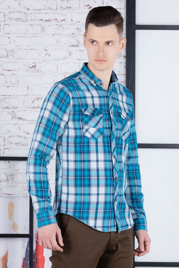 рубашка              17.2307-TURKUAZ