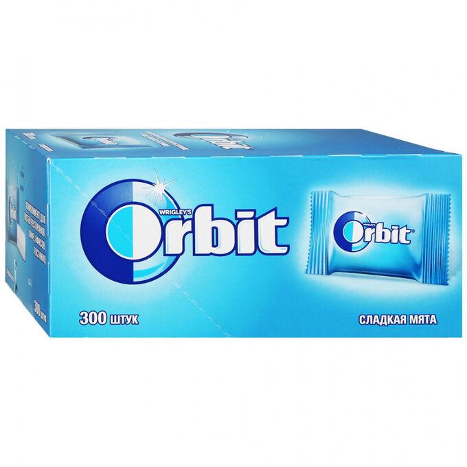 """Жевательная резинка Орбит """"Orbit"""" """"Сладкая мята"""" 300 шт по 1.36 г"""