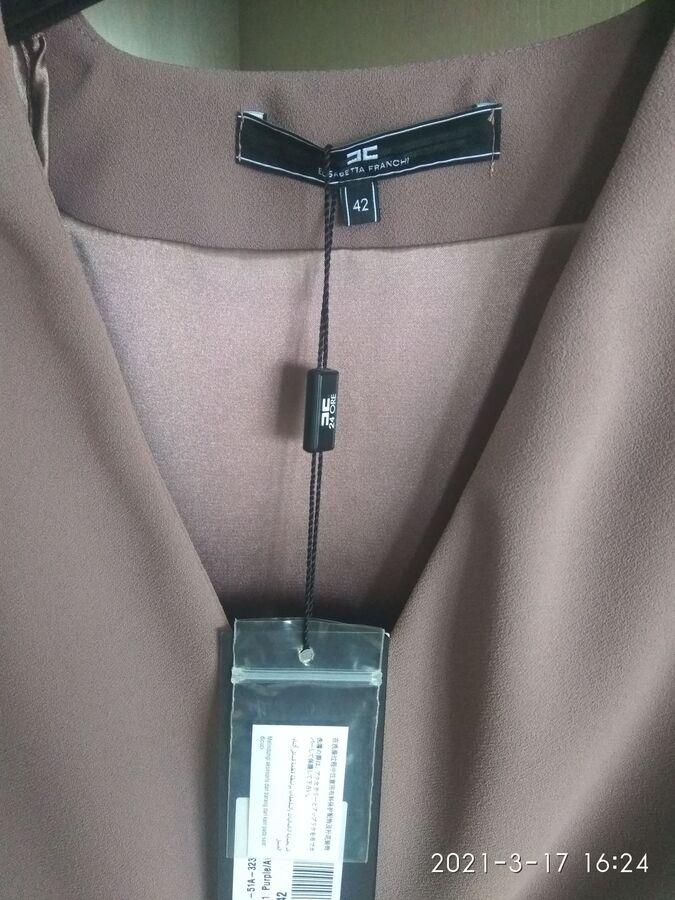 Блуза Eli*sab//etta F*ran//chi на русский 42 в Хабаровске