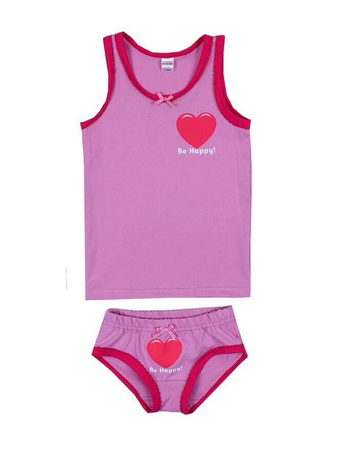 Комплект для девочки светло-розовый