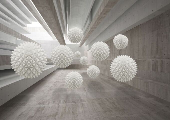 Фотообои Тоннель в стиле лофт
