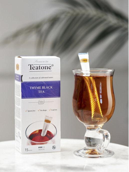 Чай Черный с Чебрецом TEATONE 15стик*1.8г
