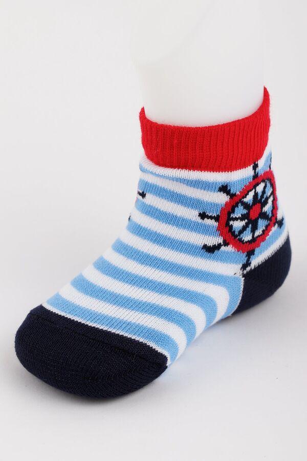 """Носки детские для мальчика """"морячок"""""""