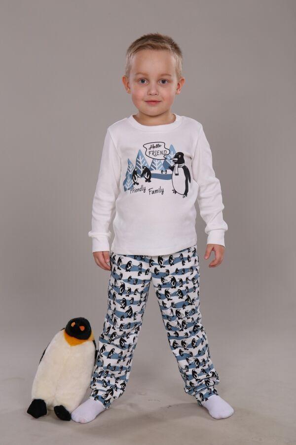 """Пижама для мальчика """"Пингвины"""""""