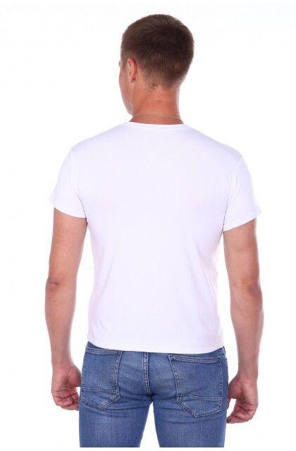 Футболка Количество в упаковке: 1; Артикул: ДТЖ-Ф-4; Цвет: Белый; Ткань: Кулирка; Состав: 100% Хлопок; Цвет: Белый Скачать таблицу размеров