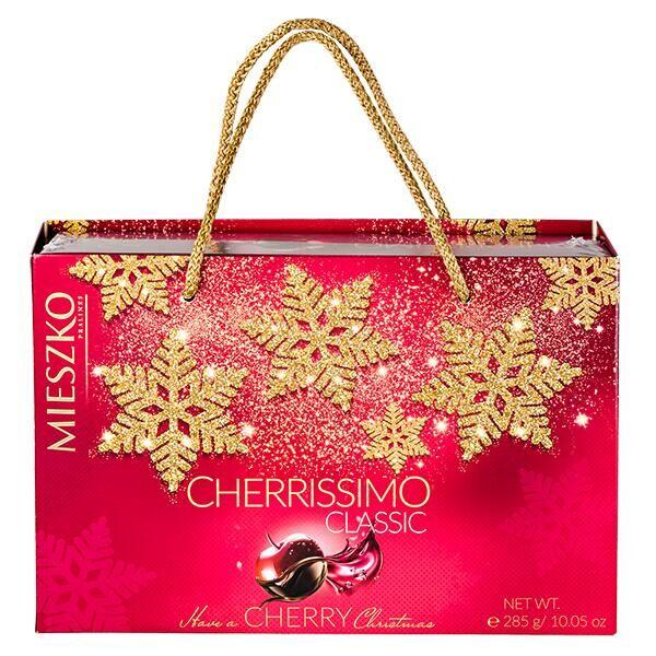 Конфеты MIESZKO CHERRISSIMO CLASSIC 285 г в подарочной сумочке