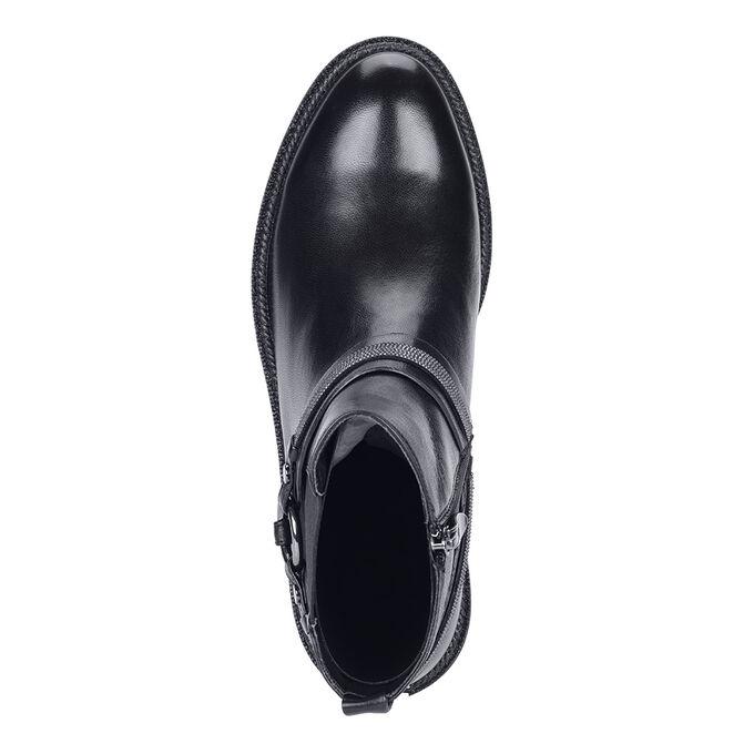 Ботинки Материал: Кожа натуральная  Подкладка: Текстиль Цвет: черный Высота каблука:4см Сезон: Демисезон Розничная цена:7780руб 🔆Важно!!! Заказ автоматически подтверждается только после оплаты, не нуж