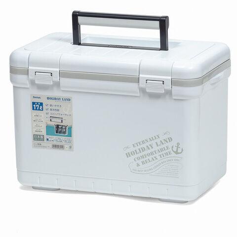 Термобокс SHINWA Holiday Land Cooler 17H белый  /8 /