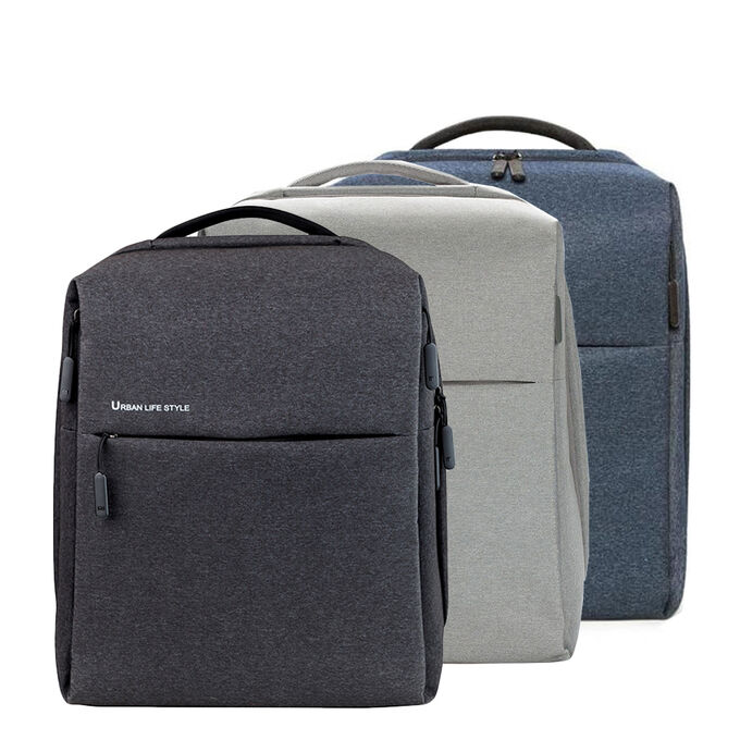 Рюкзак Cтильный и удобный рюкзак с несколькими вместительными отделениями, в одном из которых можно хранить ноутбук диагональю до 14'', а также влагостойким покрытием. Также во внутренних отделениях м