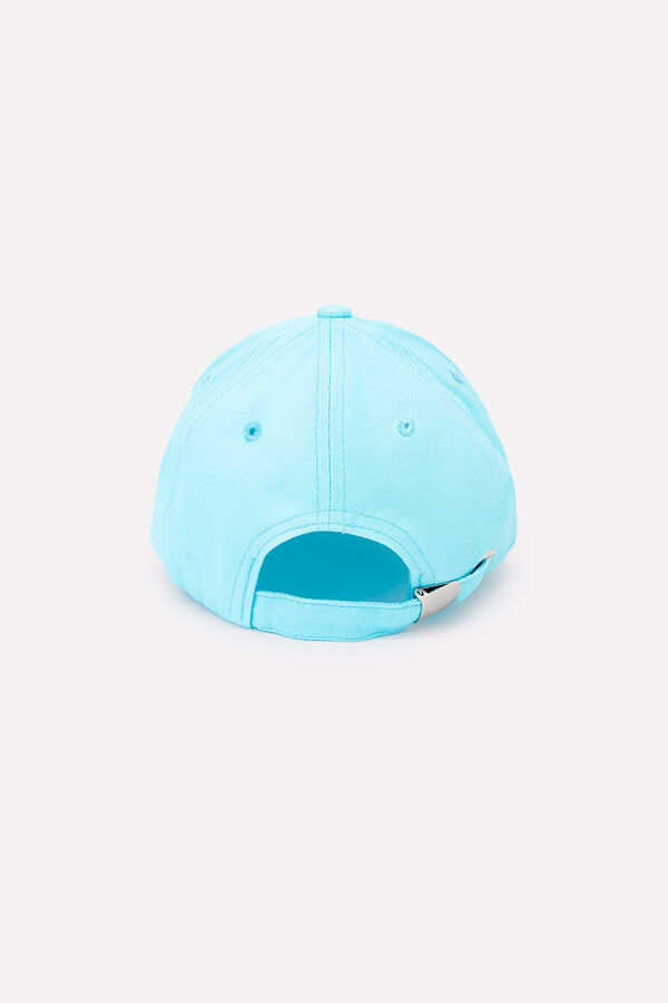 Кепка Количество в упаковке: 1; Артикул: CRO-ТК 80054; Цвет: Голубой; Состав: 100% Хлопок; Цвет: Бирюзовый Текстильная кепка из хлопка бирюзового цвета с вышивкой в виде надписи. Регулируется по шири