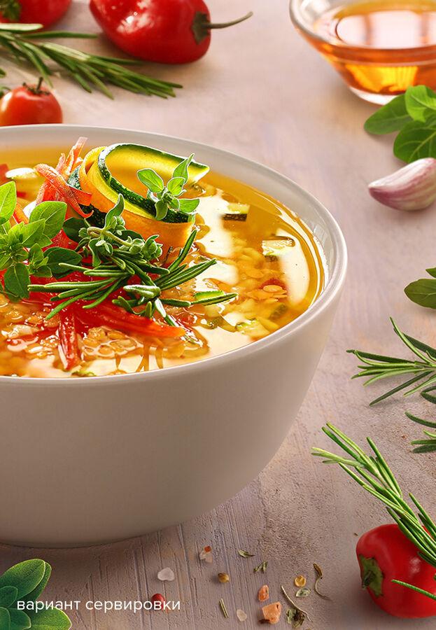 Суп минестроне с итальянскими травами