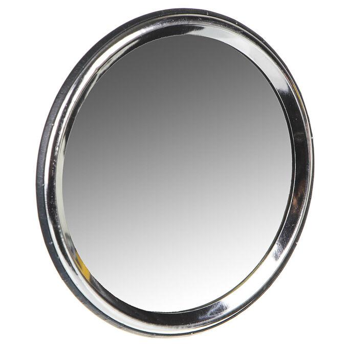 С ЮниLook Зеркальце подарочное, металл, стекло, d7,5см, 6-12 дизайнов
