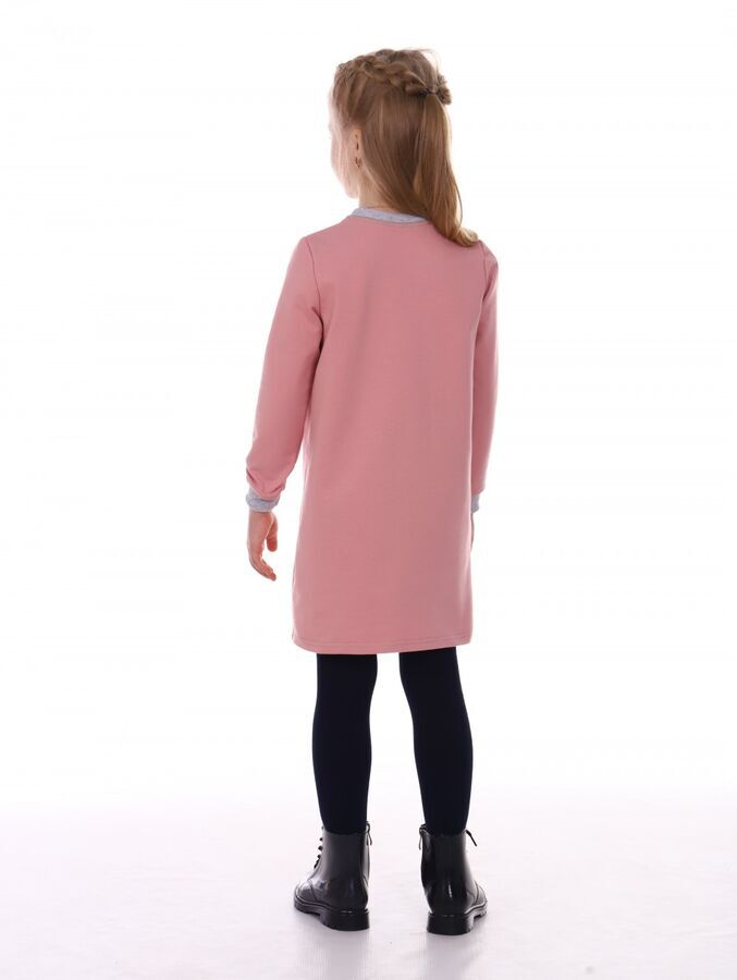Платье Футер-петля,Хлопок 95%, ПЭ 5%