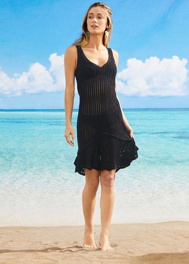 Пляжное платье вяз