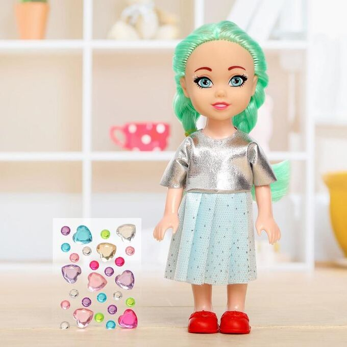 Куколка-сюрприз Lollipop doll со стразами, МИКС