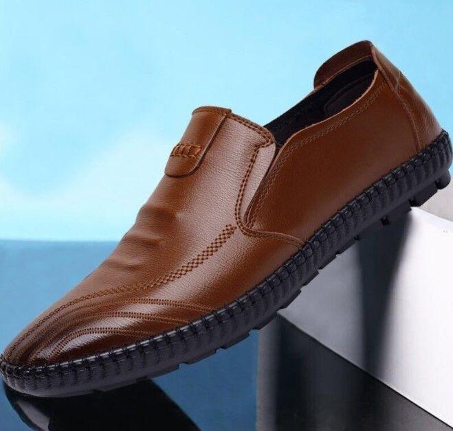 Мужские туфли, цвет коричневый