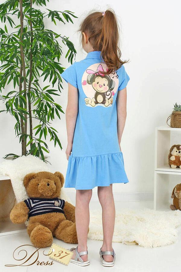 Платье «Ксения» голубое