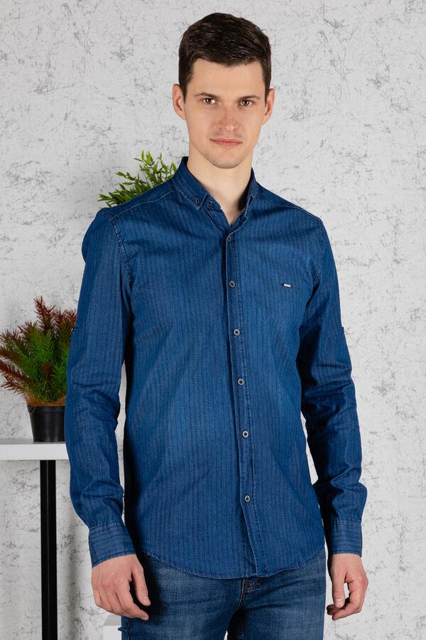 рубашка              17.2454-MAVI