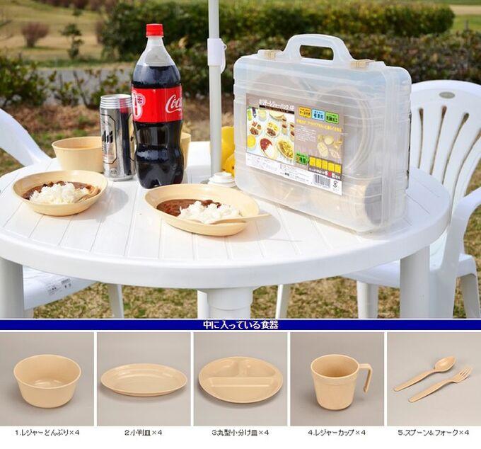 Набор посуды для отдыха Shinwa