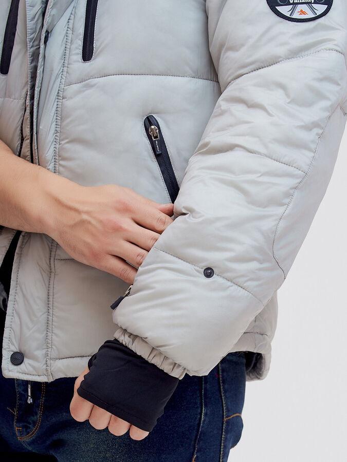 Куртка безрукавка Valianly бежевого цвета 2064B