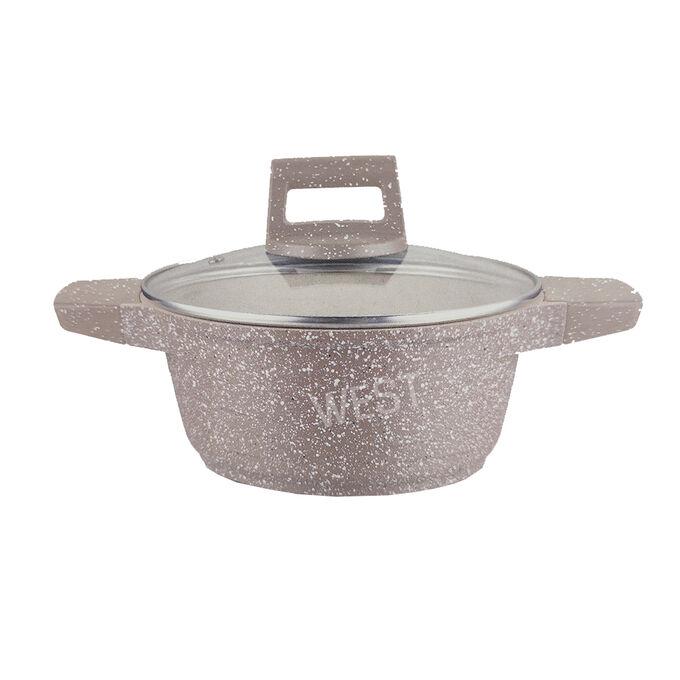 """Кастрюля с гранитным покрытием JIO """"Granite Cookware"""" / 28 см"""