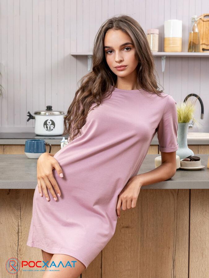 Трикотажное платье-футболка Lingeamo