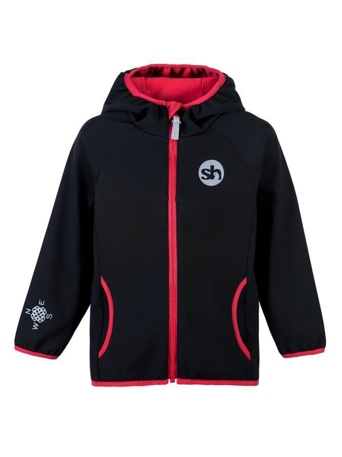 Куртка Черный/красный