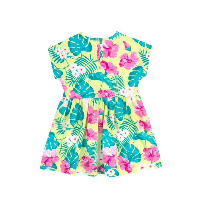 Платье Количество в упаковке: 1; Артикул: BN-158Л21-171; Цвет: Зелёный; Ткань: Кулирка; Состав: 100% Хлопок; Цвет: Салатовый Скачать таблицу размеров                                                 П
