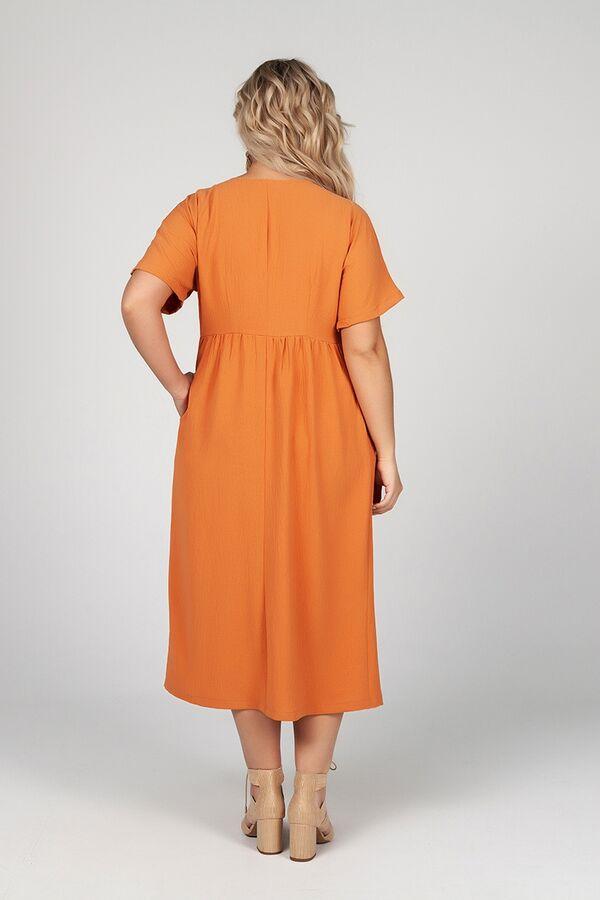 Платье Сьюзан №1. Цвет:терракотовый